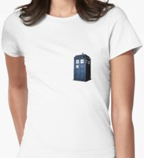 DOCTOR WHO TARDIS  Women's Fitted T-Shirt