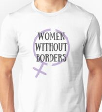 WOMEN WITHOUT BORDERS // Refugee Women's Centre Holiday Fundraiser Unisex T-Shirt