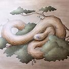 Tree Serpent by miralina
