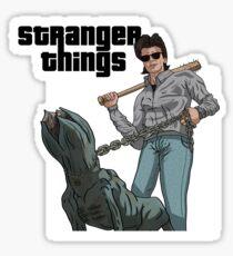 Stranger Things GTA Style Sticker
