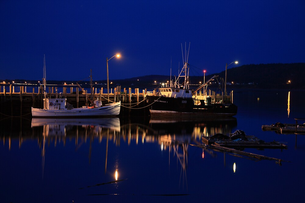Harbour Reflections by Dave Law