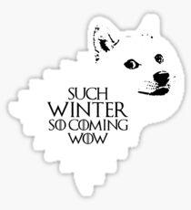 Ser Wow of House Doge Sticker