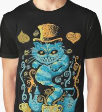 Wondercat Impressions Graphic T-Shirt