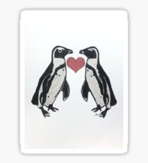 Penguin Love 111217 Sticker