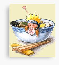 Naruto Noodles. Canvas Print