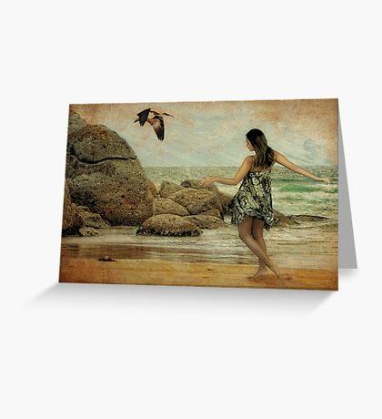 Island Girl Greeting Card