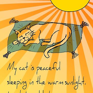 Cat Nap Haiku by PoemsProseArt