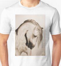 """To Never be Afraid"" Sepia Unisex T-Shirt"