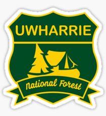 Uwharrie National Forest Sticker