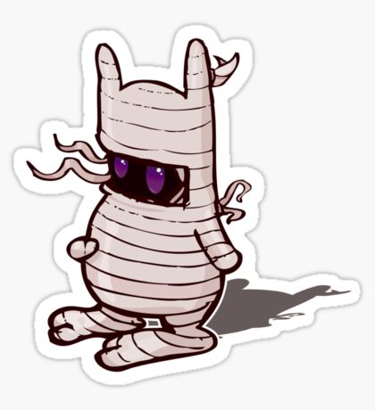 TP Mummy Sticker