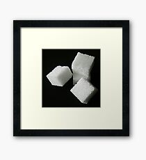 Lumps Framed Print