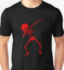 Red Dab Skeleton T-Shirt