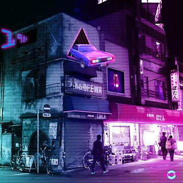 Tokyo time travel by Cybercitypunk