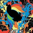 Rainbow Dash - 20% Cooler Paint Splash by BowserBasher