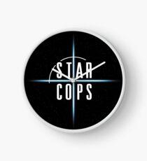 IT WON'T BE EASY (Star Cops) Clock