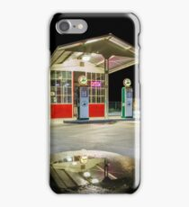 Gas Station Reflection iPhone Case/Skin