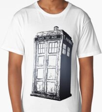 Doctor Who- Tardis Long T-Shirt