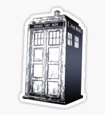 Doctor Who- Tardis Sticker