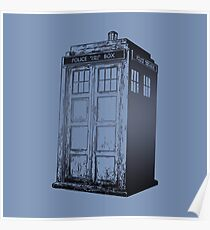 Doctor Who- Tardis Poster
