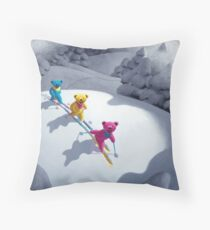 Back Country Bears 8 x 10 and larger Throw Pillow