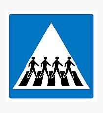 The Beatles Abbey Road Crosswalk Photographic Print