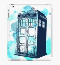 Inked up Tardis iPad Case/Skin