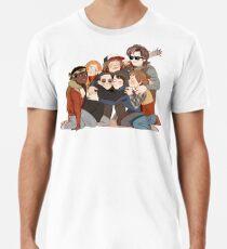 Camiseta premium para hombre gran abrazo