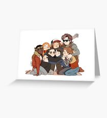 big hug Greeting Card