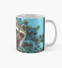 Treed Raccoon Lake Tahoe  Mug