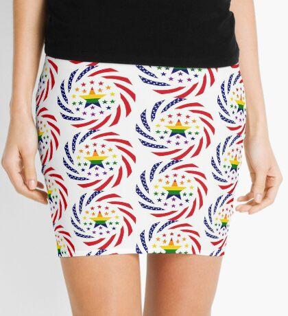 Love is Love American Flag 2.0 Mini Skirt