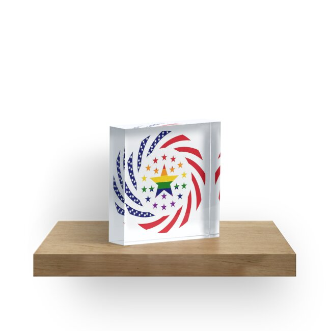 Love is Love American Flag 2.0 by Carbon-Fibre Media
