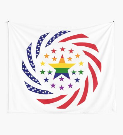 Love is Love American Flag 2.0 Wall Tapestry