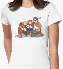 Camiseta entallada para mujer gran abrazo