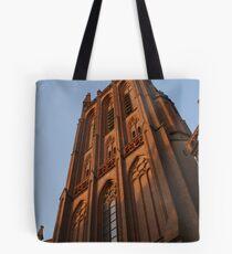 Church in sunlight Tote Bag