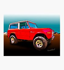 Ford Bronco Classic from VivaChas Hot Rod Art Photographic Print
