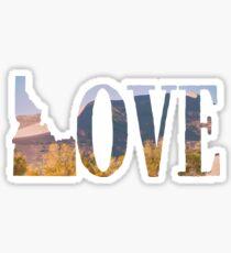 Autumn Sand Dunes Idaho Love Sticker
