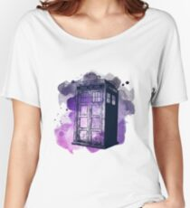 Tardis Nebula Women's Relaxed Fit T-Shirt