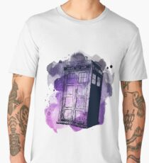 Tardis Nebula Men's Premium T-Shirt