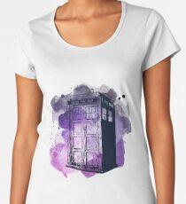 Tardis Nebula Women's Premium T-Shirt