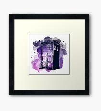Tardis Nebula Framed Print