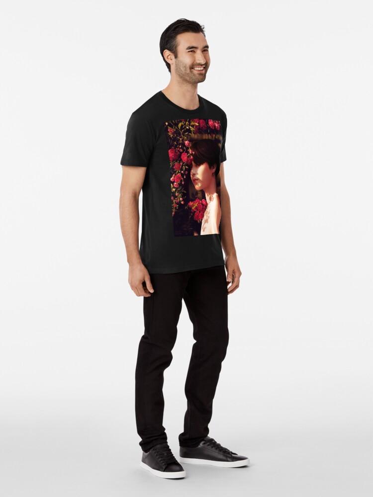 """Alternative Ansicht von """"Als du mich angerufen hast, bin ich deine Blume geworden."""" Premium T-Shirt"""