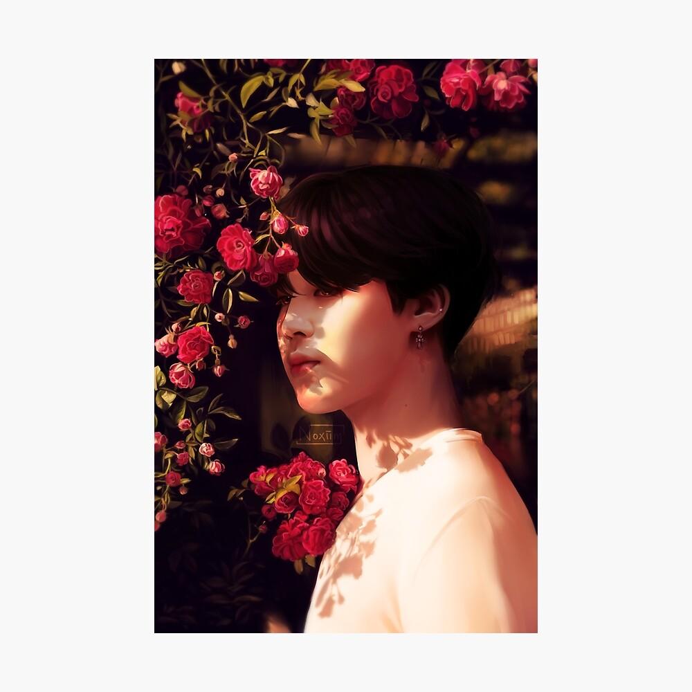 """""""Als du mich angerufen hast, bin ich deine Blume geworden."""" Fotodruck"""