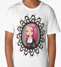 Gothic doll crying Long T-Shirt