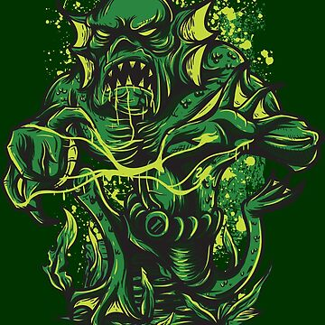 Swamp thing by Skullz23