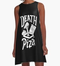 Death By Pizza A-Line Dress