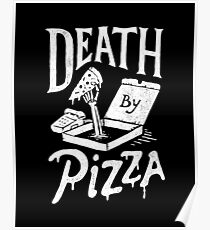 Death By Pizza Poster