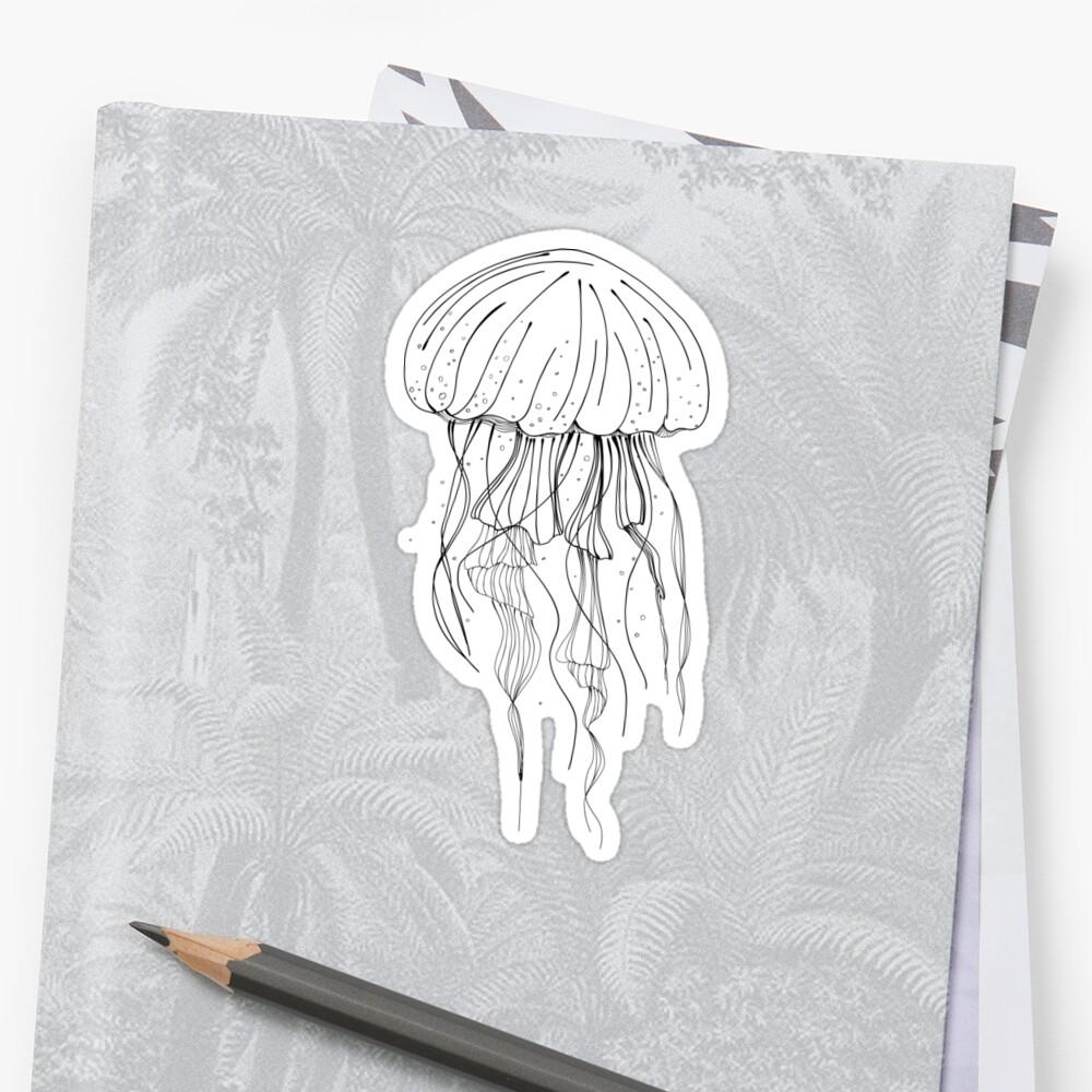 Qualle Sticker