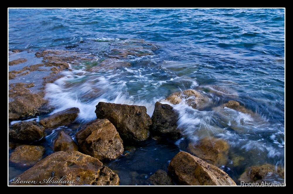 Blue Sea No. 4 by Ronen Abraham