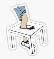 Alex Ernst x David Dobrik Smashing Table Sticker