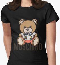 Moschino bear Women's Fitted T-Shirt
